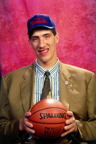 Youtube Clip Of The Day Gheorghe Muresan Scores One For